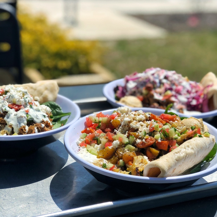 Build-your-own Bowls + Salads from CAVA