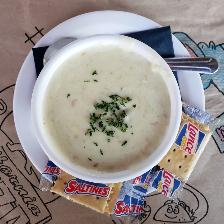 She Crab Soup at Pawley's Raw Bar in Pawley's Island, SC